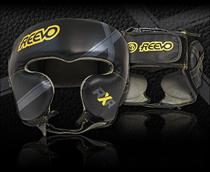 Reevo RXR Leather Boxing Headgear